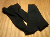 絹スパッツ厚地タイプ(婦人用、日本製)